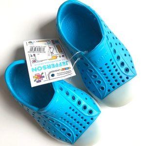 🆕 NATIVE Jefferson Wave Blue Glow Sneaker